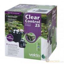 Clear Control 25 nyomás alatti szűrő 9 wattos UVC-vel