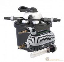 Clear Control 25 nyomás alatti szűrőszett(CC25+UV-C 9W+HighStream 4 500 pumpa)