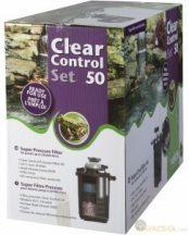 Clear Control 50 nyomás alatti szűrő szett (CC50+UV-C18W+HS 6 000 pumpa)