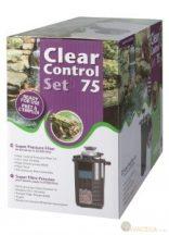 Clear Control 75 nyomás alatti szűrőszett (CC75+UV-C36W+HS 8000 pumpa)