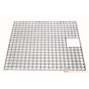 Fedőrács acél 80 x 80 cm