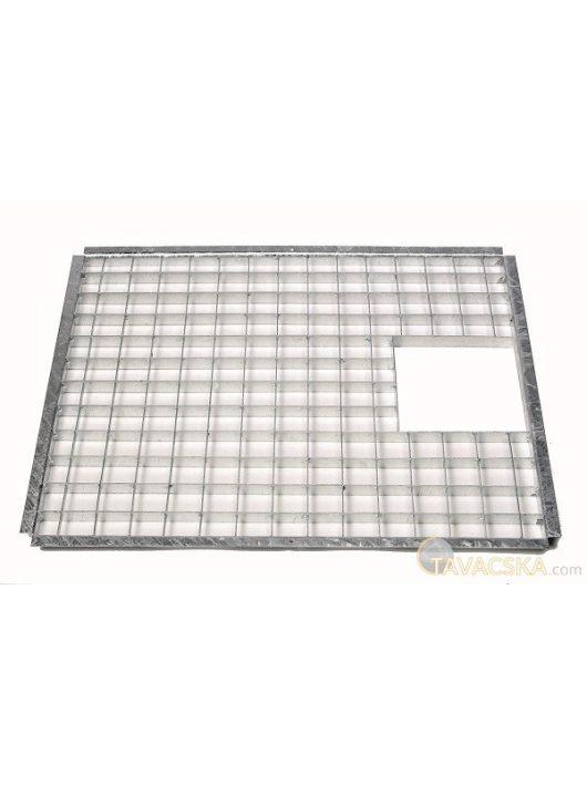 Fedőrács acél 73 x 58,5 cm