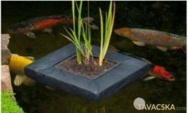 Úszó vízinövénykosár,szögletes 25