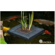 Úszó vízinövénykosár,szögletes 40