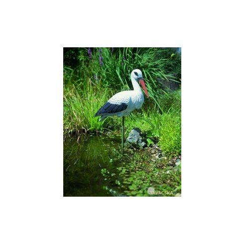 Állatfigura gólya