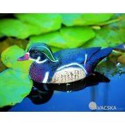 Állatfigura hím Carolina kacsa