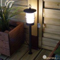 Garden Lights Locos kültéri álló lámpa földbe rögzíthető kandelláber aluminium rusztikus barna LED 1W