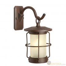 Garden Lights Callisto fali lámpa,aluminium/barna, LED 1,5W, meleg fehér fény