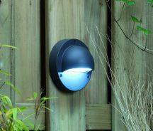 Garden Lights Deimos fali lámpa, antracit LED 1W fehér