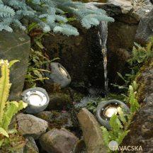 Garden Lights Lapis szett, 3 spot lámpa + trafó + vezeték ip 68, LED MR16 3W IP68, meleg fehér