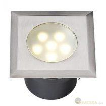 Garden Lights Leda, süllyesztett lámpa, rozsdamentes, LED 1W meleg fehér IP68