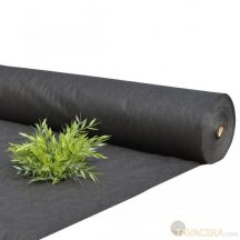 Talajtakaró fekete geotextília 50g/m2 UV stab. 3,20m x 10m