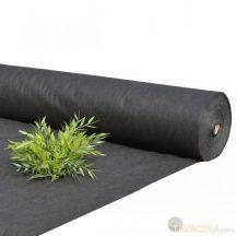 Talajtakarófekete  geotextília 50 gr/m2 fekete Uvstabil 1,1*10m /11m2