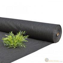 Talajtakaró fekete geotextília  50 gr/m2 fekete  Uvstabil 1,1*50m /55m2