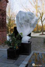 Téli fagy elleni takarófólia, fehér 2x5