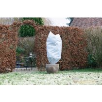 Téli takaró fólia zsinórral,fehér szett, átm.70x1,5