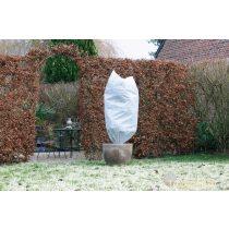 Téli takaró fólia zsinórral,fehér átm.100x1,5