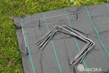 Talajtakaró rögzítő kampók szett 20x12