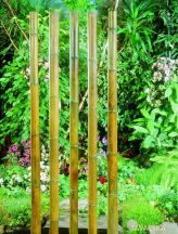 Bambusz növénytámasz natúr 50