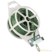 Kötöződrót vágószerkezettel zöld 25