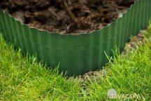 Gyepszegély zöld  9x9