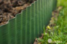 Gyepszegély zöld 25x9