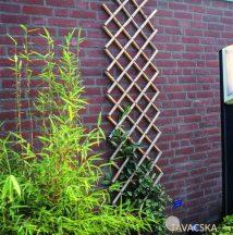Bambusz ollósrács 45x180