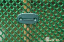 Rögzítő szett huzallal zöld színben