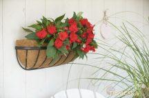 Virágtartó fali 60 cm