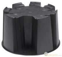 Esővízgyüjtő fekete talp 31,5x53
