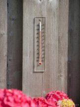 Hőmérő plexiüveg 21 x 4