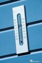 Hőmérő KELVIN 7 fali alumíniumból