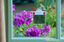Digitális thermometer ablakba