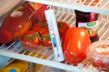 Hőmérő, hűtőszekrénybe 16x2,4x1,5