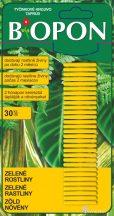Biopon táprúd zöld növényekhez, 30 db/cs
