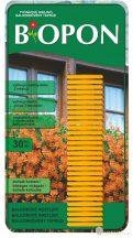 Biopon táprúd balkon növényekhez 30 db/cs
