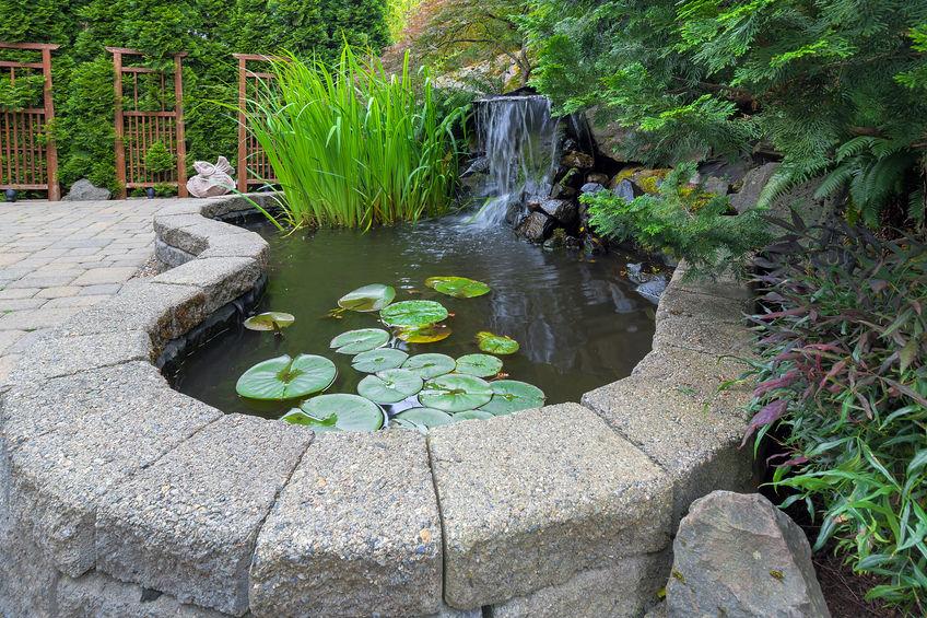 kerti vízesések